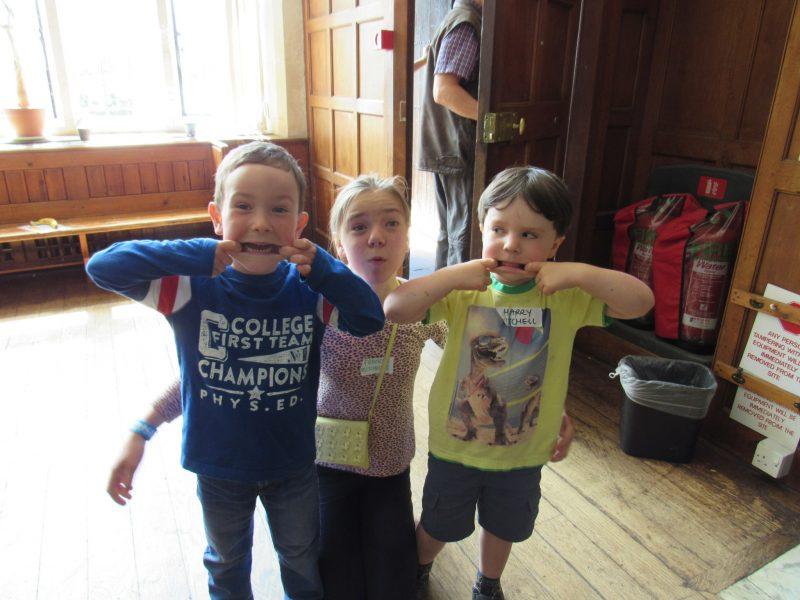 Children at CCAA weekend, Avon Tyrrell
