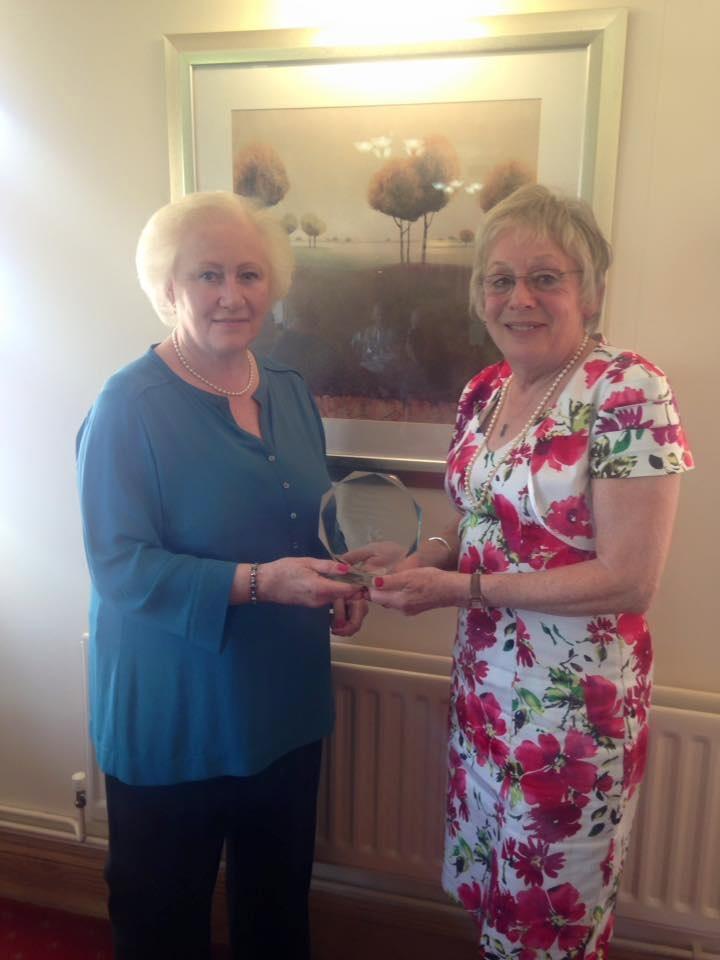 Caroline Cox awarded Patron